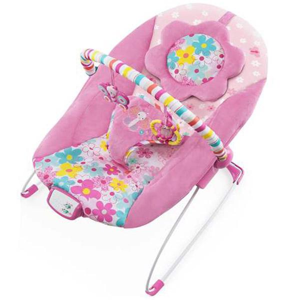 Kids II Ležaljka Bright Starts Pretty in Pink Butterfly Cutouts SKU60722 - ODDO igračke