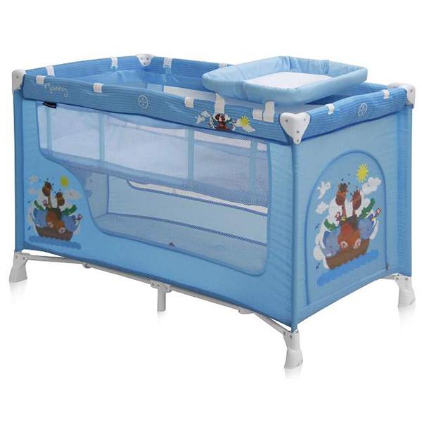 Prenosivi Krevetac Bertoni Baby Nanny 2 Nivoa Blue Adventure 10080191610 - ODDO igračke