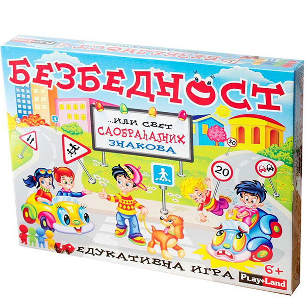 Bezbednost edukativna igra Play land PL138 - ODDO igračke