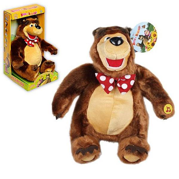 Maša i medved pliš 35cm 28X - ODDO igračke