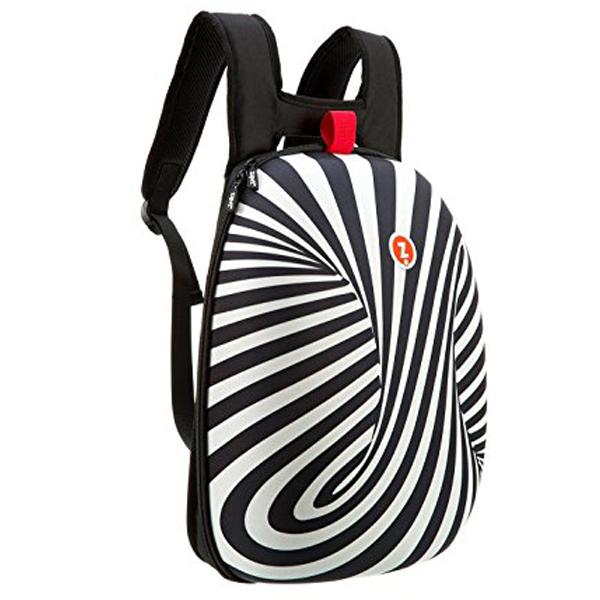 Ranac đački Shell Zipit crno-beli 508886 - ODDO igračke