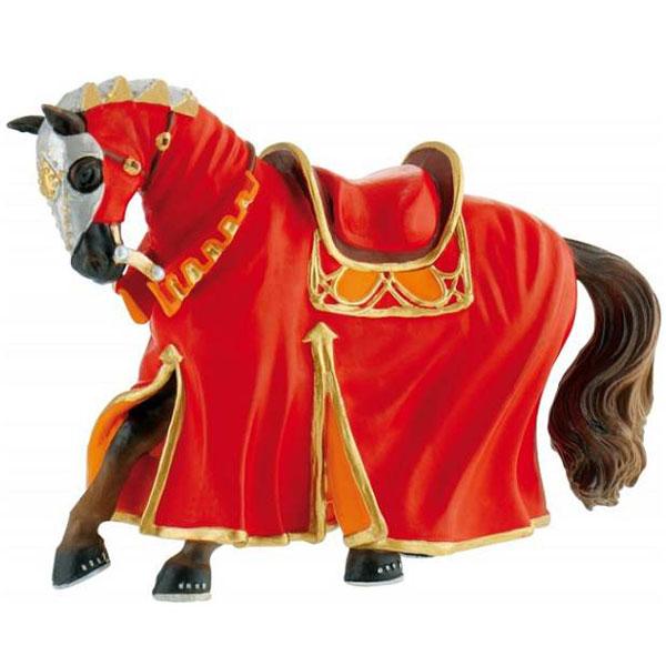 Bully Tournament Horse - Red Figurica Vitezovi 80768 F - ODDO igračke