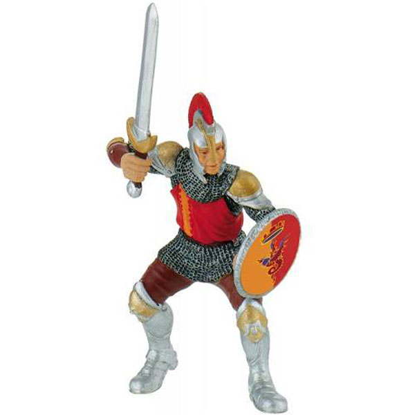 Bully Knight with Sword - Red Figurica Vitezovi 80765 D - ODDO igračke