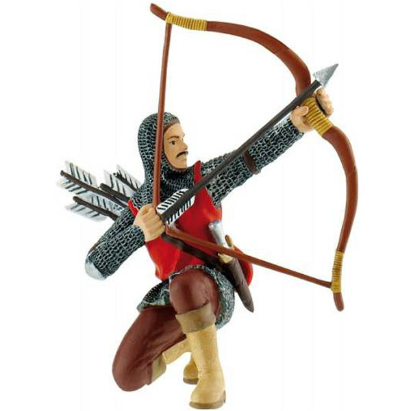 Bully Archer - Red Figurica Vitezovi 80787 D - ODDO igračke