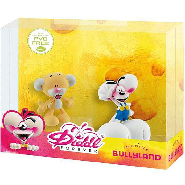 Bully Gift Box Diddl i Pimboli (2 figurice) Likovi iz Crtanog Filma Diddl Forever 43466 - ODDO igračke