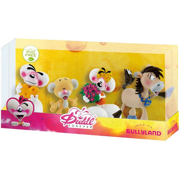 Bully Gift Box Diddl i Društvo (4 figurice) Likovi iz Crtanog Filma Diddl Forever 43469 - ODDO igračke