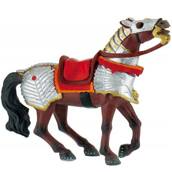 Bully Battle Horse - Red Figurica Vitezovi 80767 F - ODDO igračke