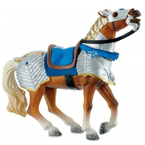 Bully Battle Horse - Blue Figurica Vitezovi 80766 F - ODDO igračke