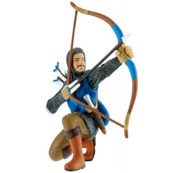 Bully Archer - Blue Figurica Vitezovi 80781 D - ODDO igračke