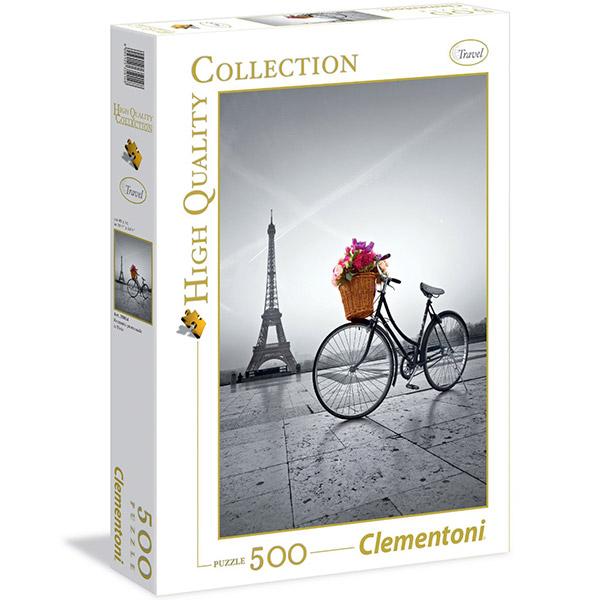 Clementoni puzzle Romantic Promenade In Paris 500pcs 35014 - ODDO igračke