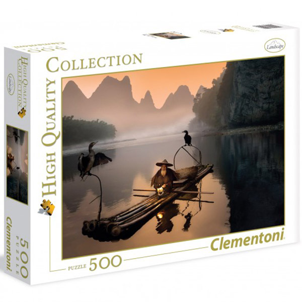 Clementoni puzzle The old fishermen 500pcs 35022 - ODDO igračke