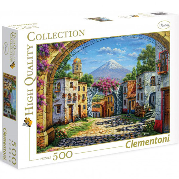 Clementoni puzzle The Volcano 500pcs 35025 - ODDO igračke