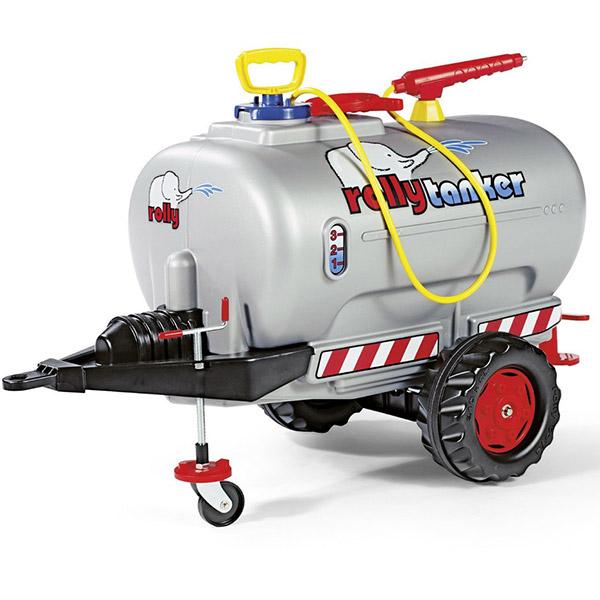 Prikolica sa cisternom Rolly Toys Rolly Tanker Silber 122776 - ODDO igračke