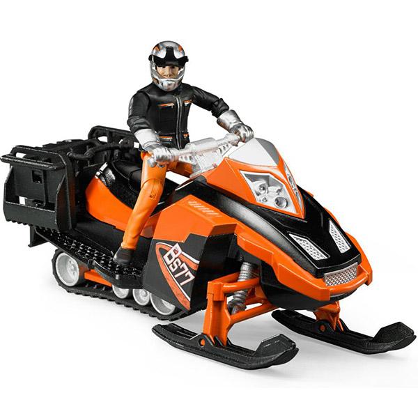 Ski skuter sa vozačem i dodacima Bruder 631017 - ODDO igračke