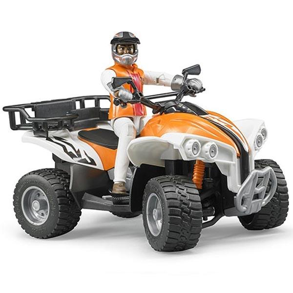 Motor quad Bruder sa vozačem 630003 - ODDO igračke