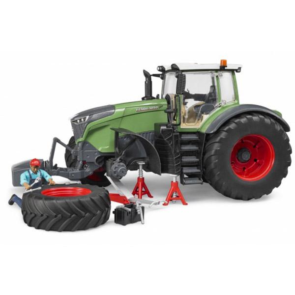 Traktor Fendt Vario sa mehaničarem i alatom 040413 - ODDO igračke