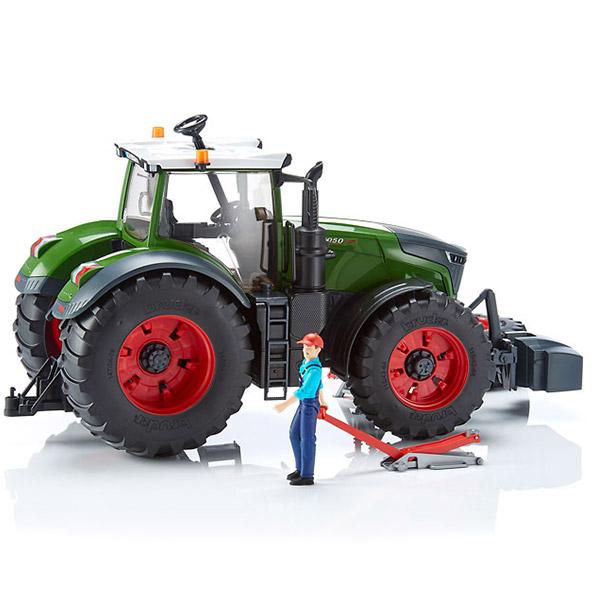Traktor Bruder Fendt Vario sa mehaničarem i alatom 040413 - ODDO igračke