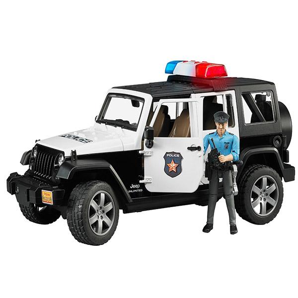 Jeep Bruder Wrangler UR police sa policajcem 025267 - ODDO igračke