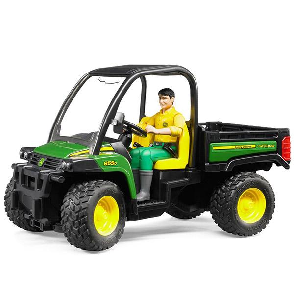 John Deer Gator 855D sa vozačem Bruder 024901 - ODDO igračke
