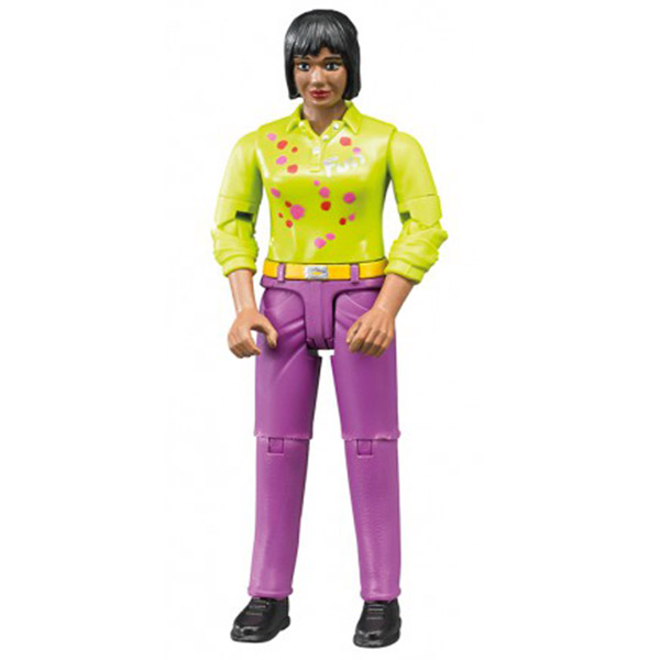 Figura Bruder žena, roze jeans 604035 - ODDO igračke