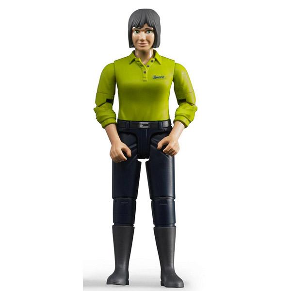 Figura Bruder žena, tamno plavi jeans 604059 - ODDO igračke