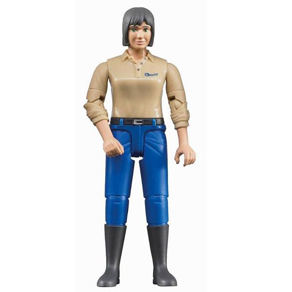 Figura žena, plavi jeans 604066 - ODDO igračke