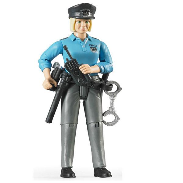 Figura žena Policajka Bruder 604301 - ODDO igračke