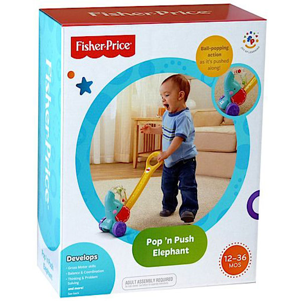 Guralica Slonče Fisher Price 252748 - ODDO igračke