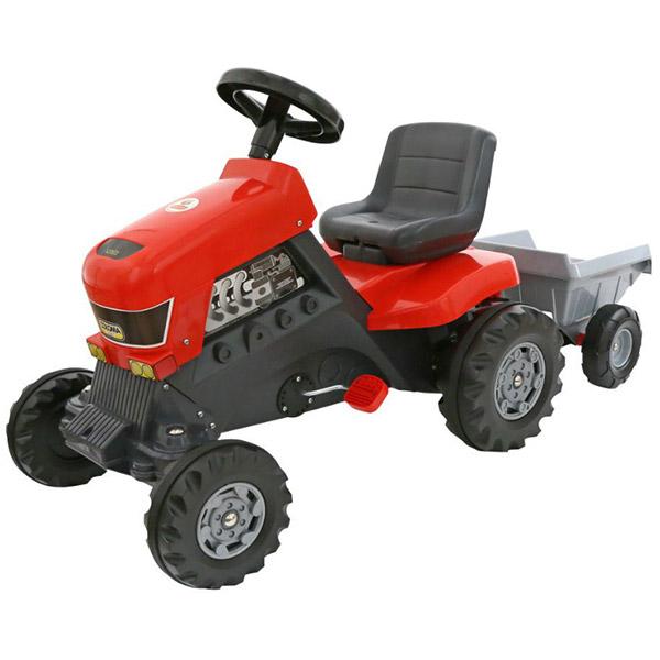 Traktor na pedale sa prikolicom Coloma 17-52681 - ODDO igračke