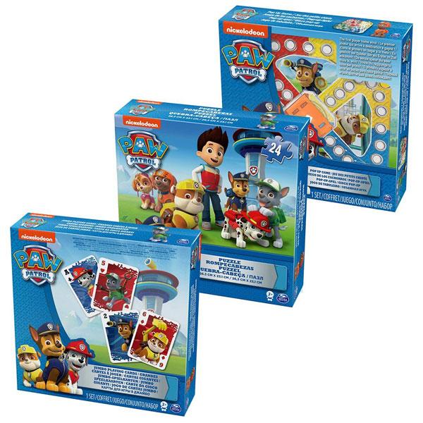 Patrolne Šape Set 3 Igre SM6033299 - ODDO igračke