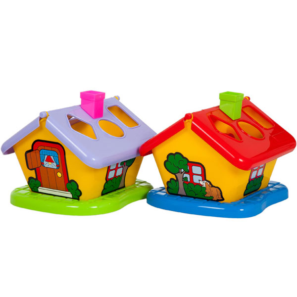 Kućica sa oblicima BR3354 - ODDO igračke