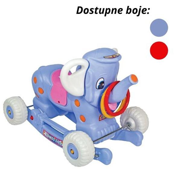 Klackalica guralica Slon 03/7204 - ODDO igračke