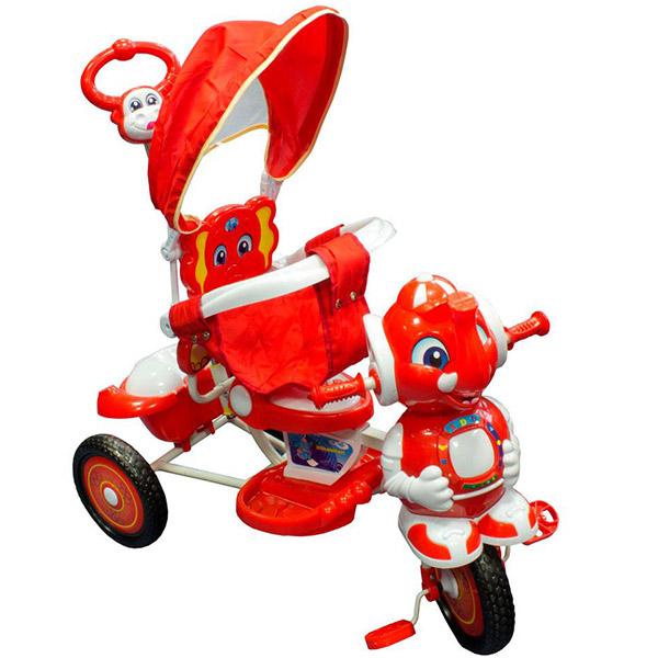 Tricikl sa ručkom i tendom Slonče LB12 - ODDO igračke
