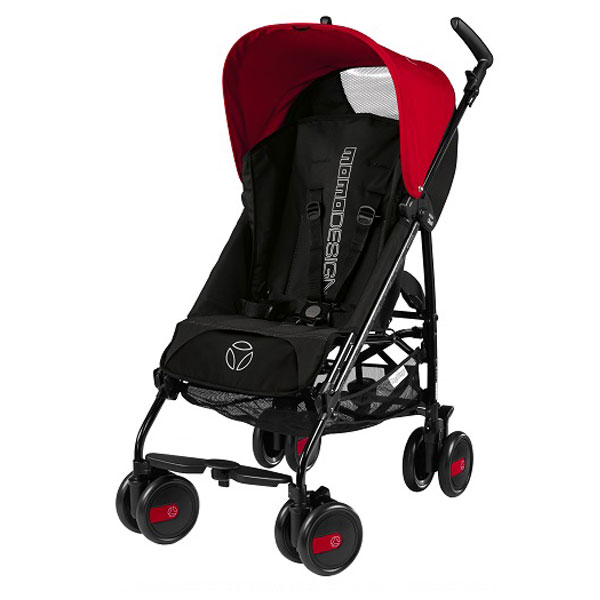 Kolica Pliko Mini Momo design Red & Black Peg Perego P382800620149 - ODDO igračke