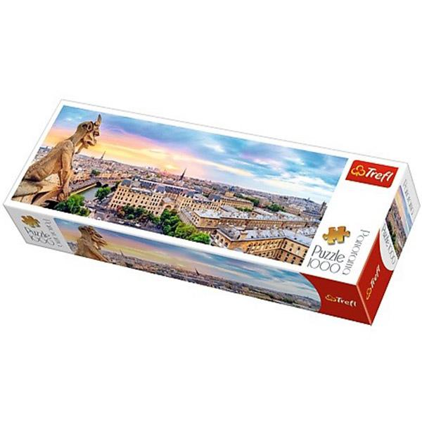 Trefl puzzla Panorama katedrala Notre-Dame 1000pcs 29029 - ODDO igračke
