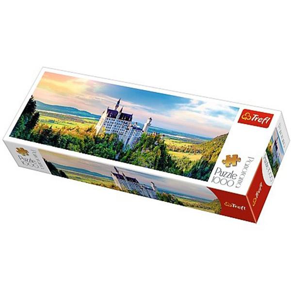 Trefl puzzla Panorama Zamak Neuschwanstein 1000pcs 29028 - ODDO igračke
