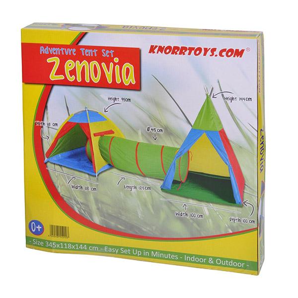 Tunel i dva šatora Knorr Toys 55200 - ODDO igračke