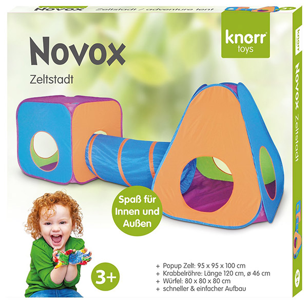 Šator tunel i kocka Knorr Toys 55250 - ODDO igračke