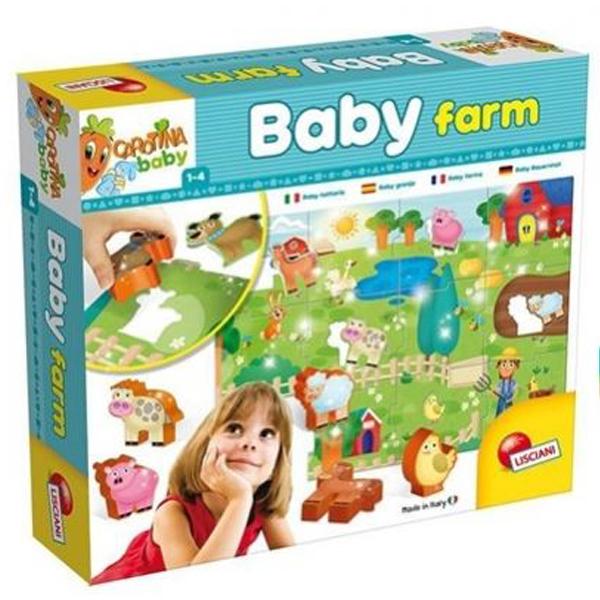 Slagalice umetaljke baby farm 58464/67848 - ODDO igračke