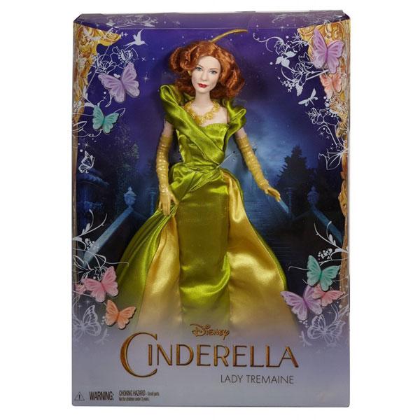 Lutka Disney Pepeljugina maćeha Lady Tremaine CGT57 - ODDO igračke