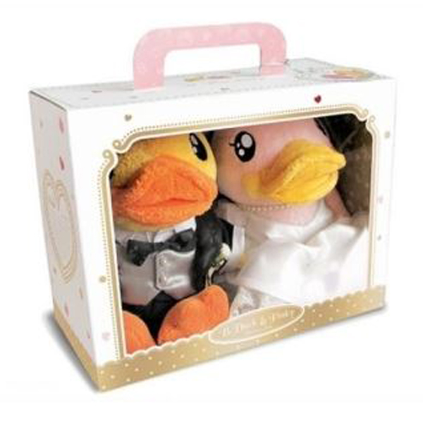 Pliš patka par mladenci 18090 - ODDO igračke