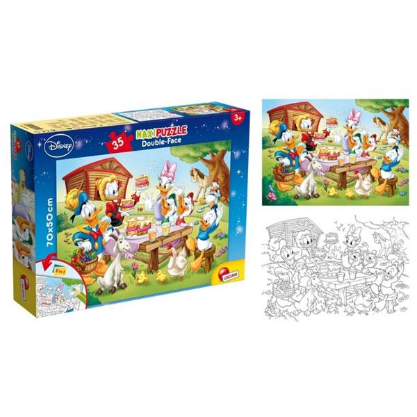 Slagalica Lisciani 35pcs Maxi PAJA PATAK  2u1 slozi I oboji 48199 - ODDO igračke