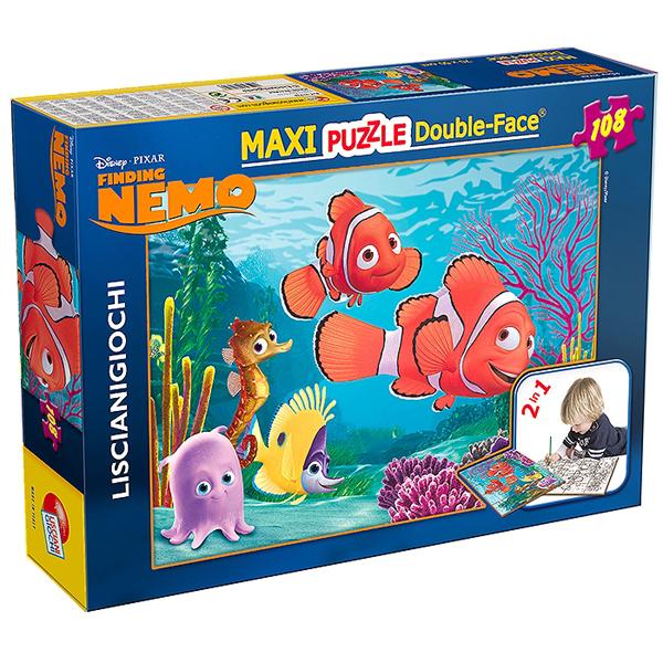 Slagalica Lisciani 108pcs Maxi Nemo 2u1 slozi I oboji 31726 - ODDO igračke