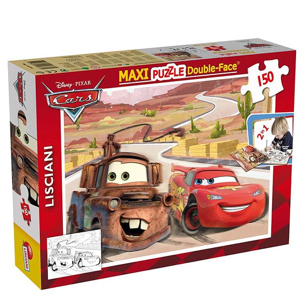 Slagalica Lisciani 150pcs Maxi Cars 2u1 slozi I oboji 46744 - ODDO igračke