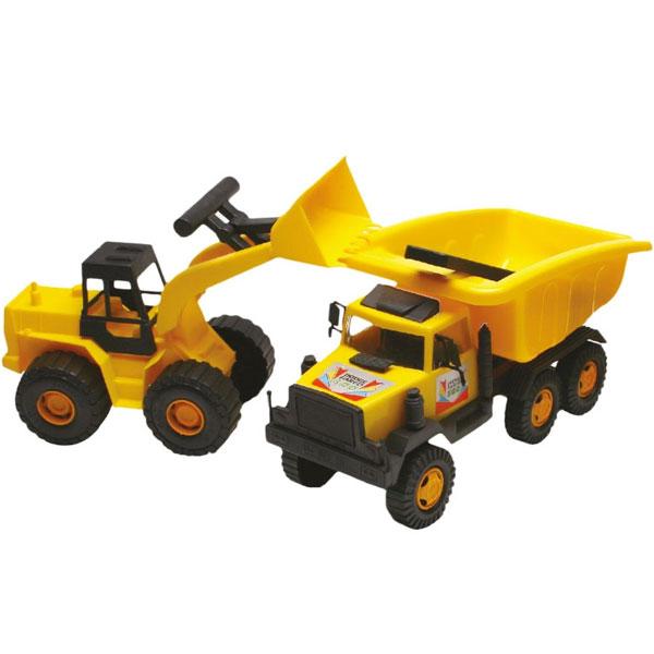 Bager i kamion Double Construction 1187 33105 - ODDO igračke