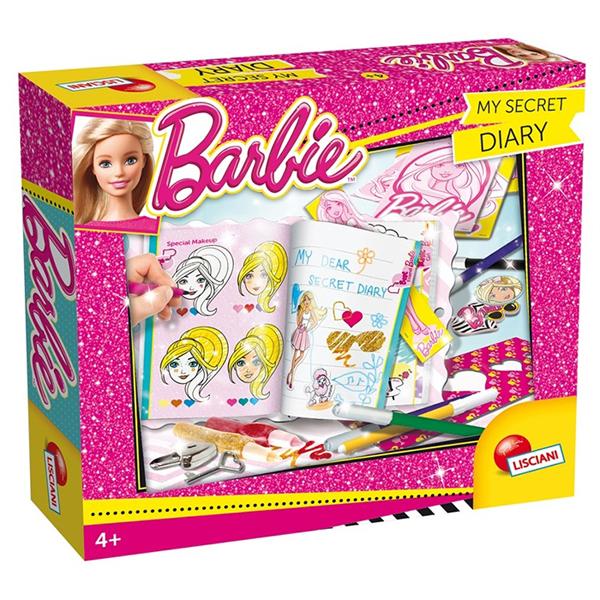 Barbie Kreativni set - Tajni dnevnik Lisciani 55951 - ODDO igračke