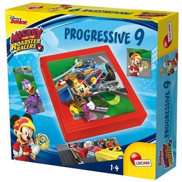 Edukativna slagalica baby Progressive Disney Miki Lisciani 58792 - ODDO igračke