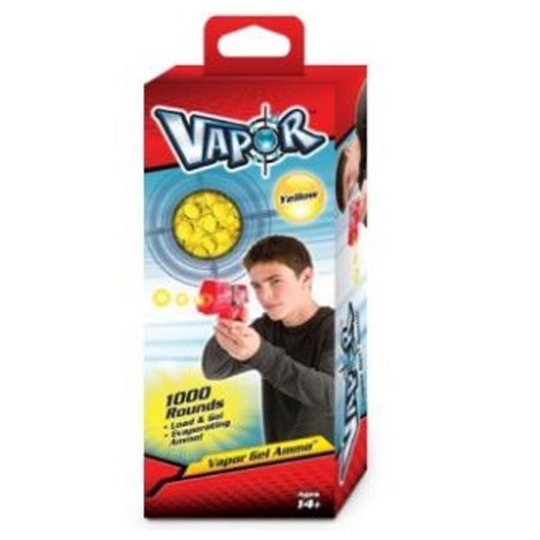 Vapor Atlas Municija gel loptice žute za pištolj 1000kom - ODDO igračke