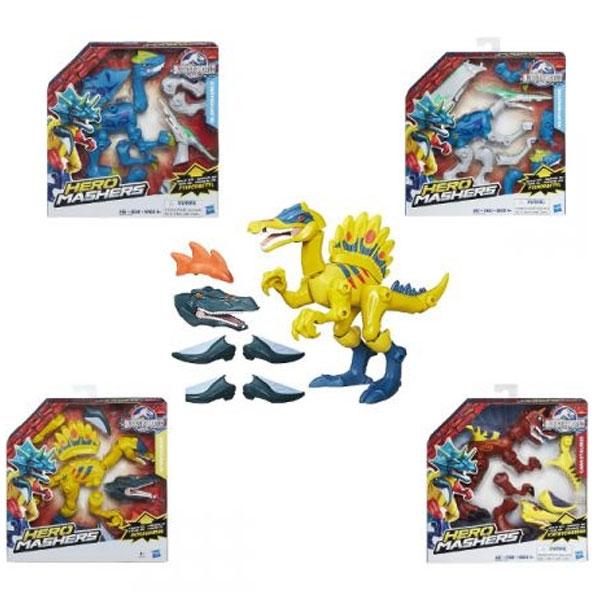 Dinosaurus set Jurassic World Hero Mashers 497380 - ODDO igračke