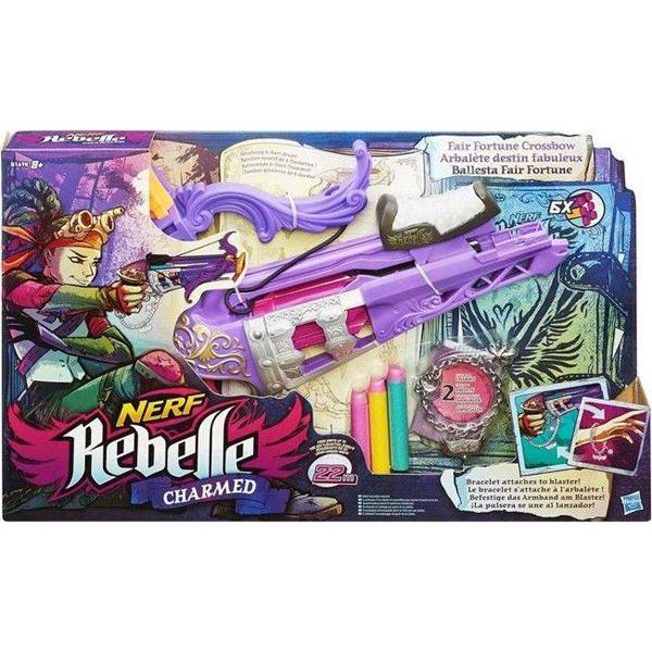 Nerf Rebelle Charmed Fair Fortune  B1698EU4 - ODDO igračke